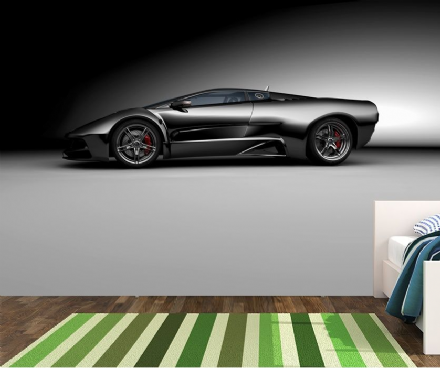 Super sports car wall murals